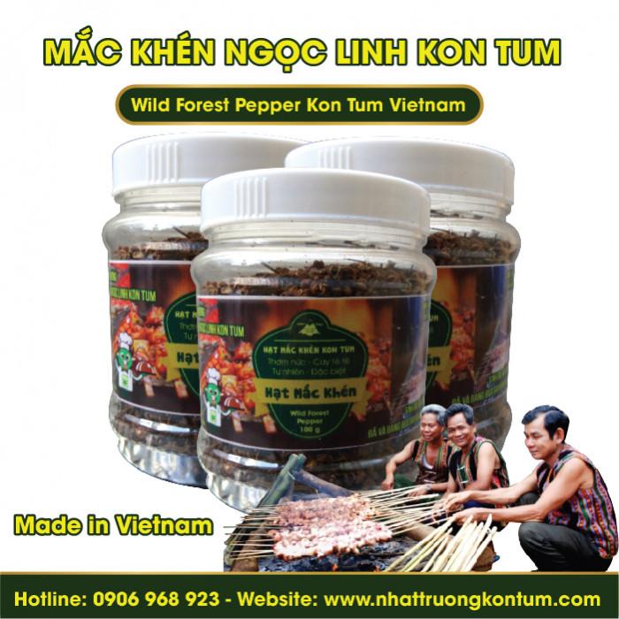 Mắc Khén Ngọc Linh Kon Tum - Wild Forest Pepper Kon Tum Vietnam- Hũ 100g