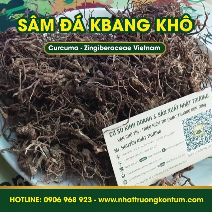 Sâm Đá Kbang Kon Tum Việt Nam Củ Khô- Curcuma Zingiberaceae Vietnam - Túi 1kg