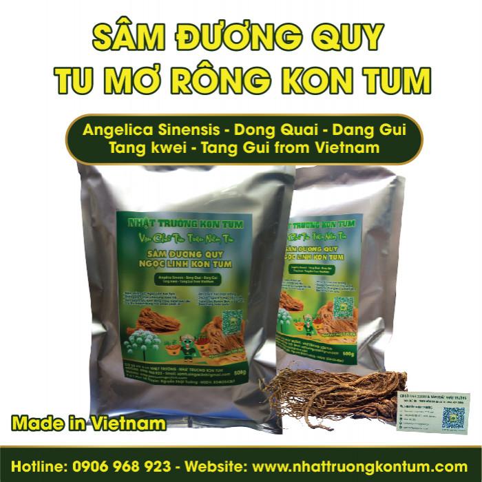 Đương Quy Tu Mơ Rông Ngọc Linh Kon Tum - Angelica Sinensis - Túi 0.5kg